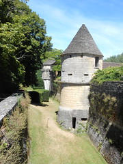 Tower, ramparts and moat