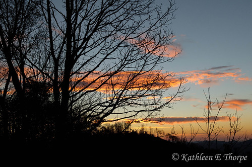 autumn trees sunset mountains fall silhouette clouds northcarolina sooc wolflaurel