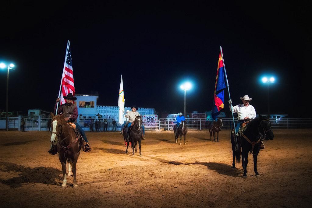 Navajo Cowboys in Formation // 44th Annual Western Navajo ...