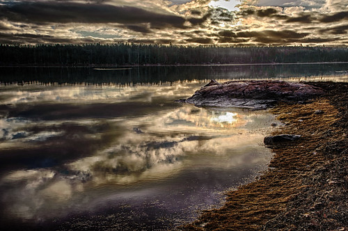 weather clouds sunrise day cloudy maine manipulations hdr highdynamicrange gouldsboro hancockcounty binnshire