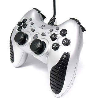 Dual Shock USB PC Controller Game pad Joypad Joystick | by moonyang8
