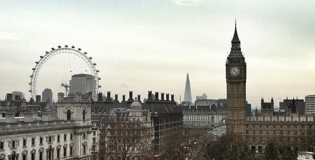 London Eye, The Shard, Big Ben