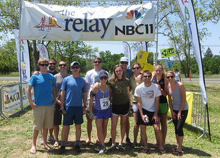 Team Victorious Secret at the start of The Relay | by chrisstreeter