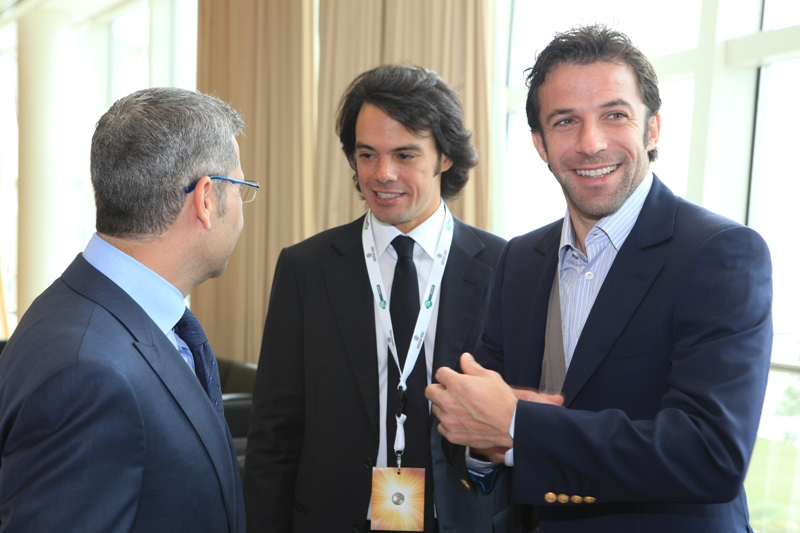 Tommaso Bendoni and Alessandro Del Piero