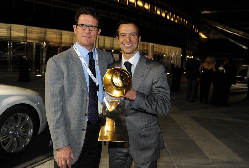 Fabio Capello and Jorge Mendes