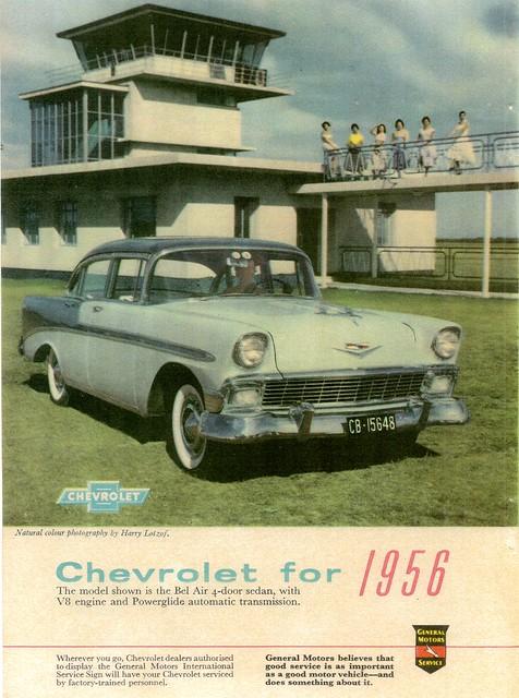 1956 Chevrolet Bel Air 4-door Sedan (South Africa)