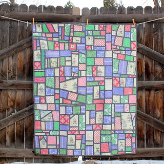 Mod Mosaic Quilt FINISHED