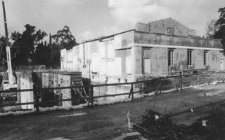 When Smith Campus Center was built in 1998-99, only Edmunds Ballroom was kept, as you can see in this construction photo from 1998.