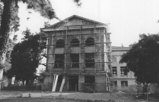Renovation of the Carnegie building in 1998