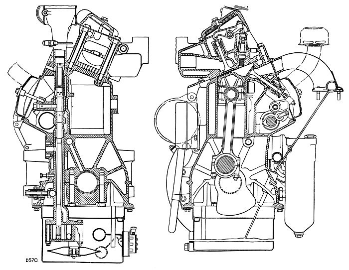 Rover Ioe Engine Cross Sections