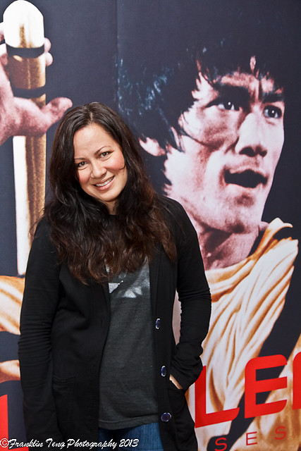 Shannon Lee the daughter of Bruce Lee 2013