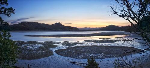 sunset newzealand panorama seascape landscape shoreline olympus gitzo gt2542l