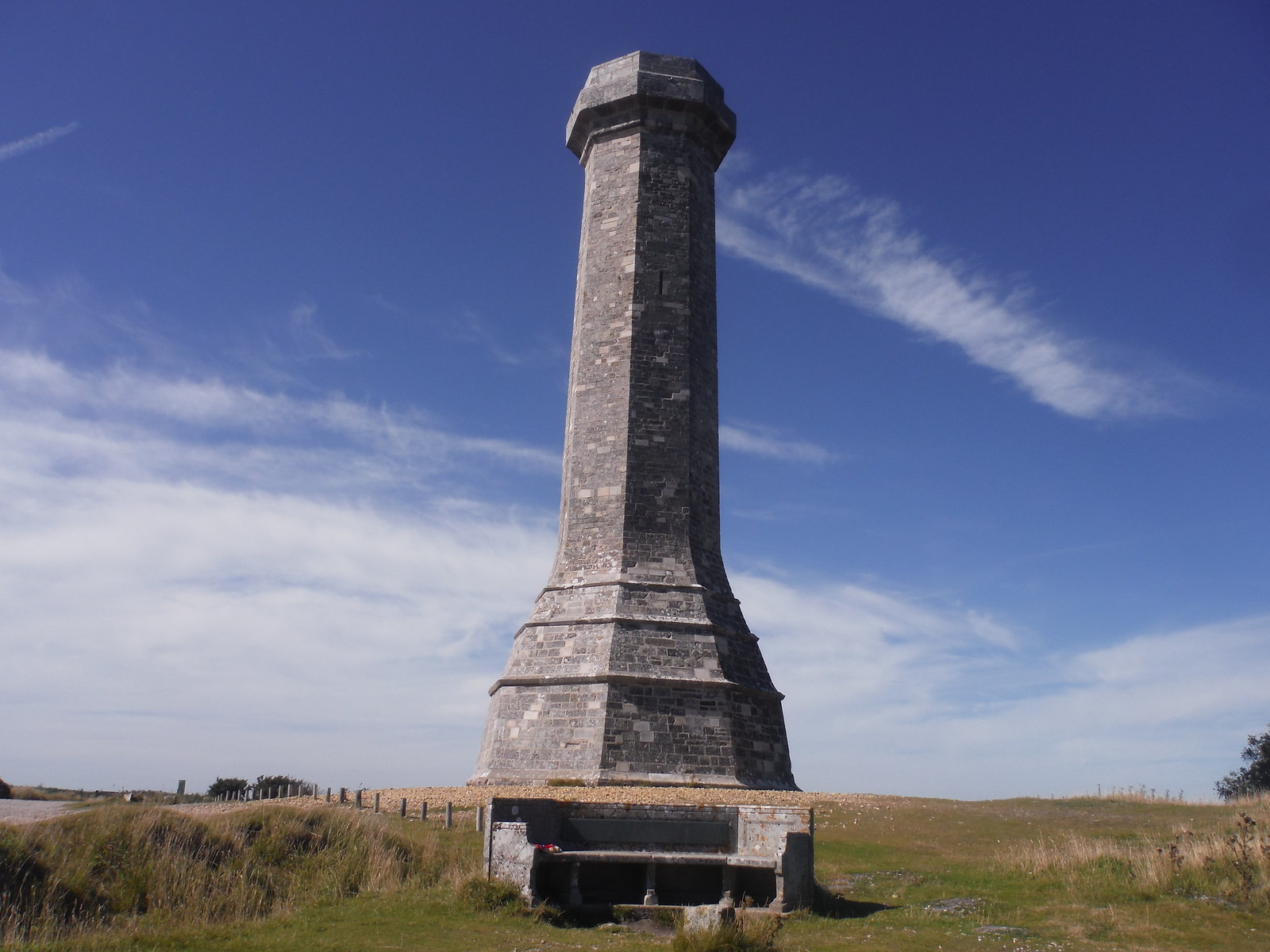 Hardy Monument and Memorial Bench SWC Walk 275 Dorchester South Circular or to Portesham