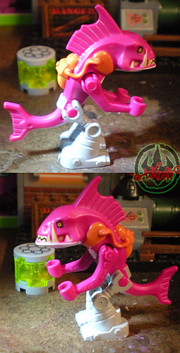 "LEGO Teenage Mutant Ninja Turtles :: ""Stealth Shell in Pursuit"" ; FISHFACE iv  (( 2013 )) | by tOkKa"