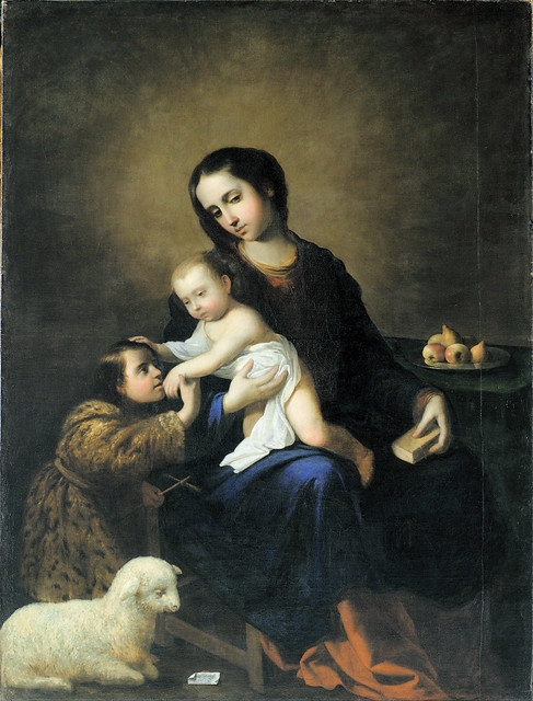 Zurbaran - Virgin and Child with the Infant St John the Baptist