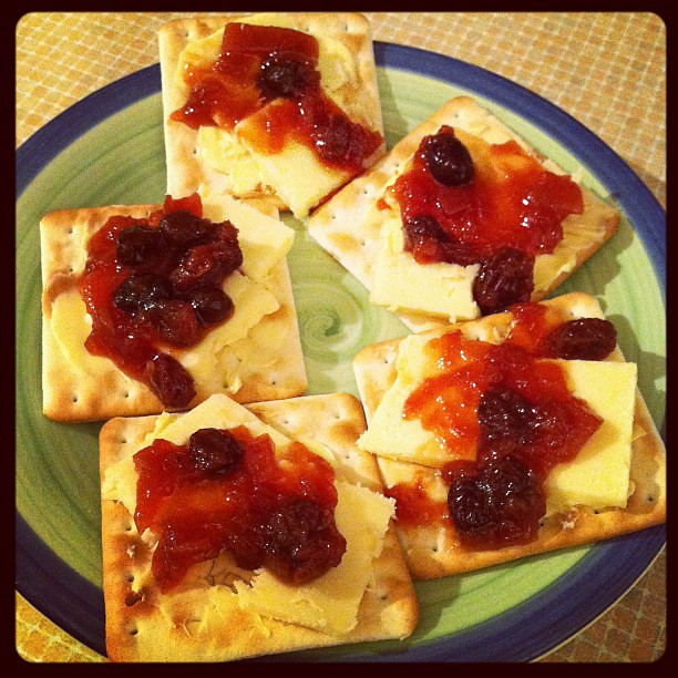 Cheddar Cheese, Jacob's Crackers, Homemade Beetroot Chutne… | Flickr