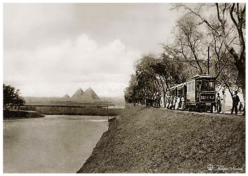 The Three Pyramids & Tramway In 1910's | by Tulipe Noire