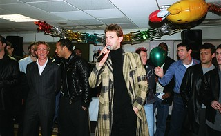 Jnr Gunners Christmas Party 2001.