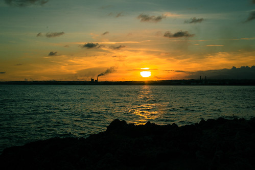 sunset sea canon atardecer mar santodomingo puestasol haina 60d