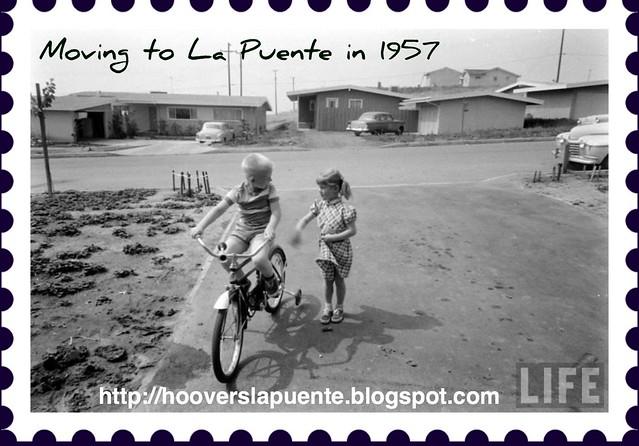 Moving to La Puente 1957