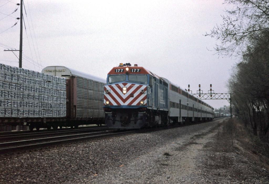 Metra at Elmhurst