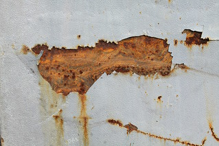 White Rusty Texture 2