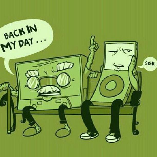 I let My Tape rock 'till My Tape popped