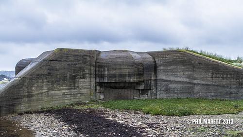 Resistance Nest Kempt Tower German Jäger 10.5 cm Gun casemate St Ouen's Bay