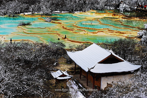china trip travel water pool wonderful landscape colorful tour place top scenic landmark icon images valley getty sichuan iconic huanglong gettyimages gettyimagesstock