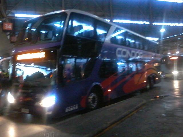 Cóndor Bus | Terminal San Borja | Modasa Zeus DP / FXFW37