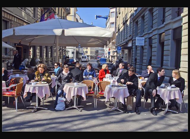 Bahnhofstrasse Zurich March 28, 2007. No. 268.