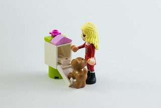 There's something for me today!   by The LEGO woman