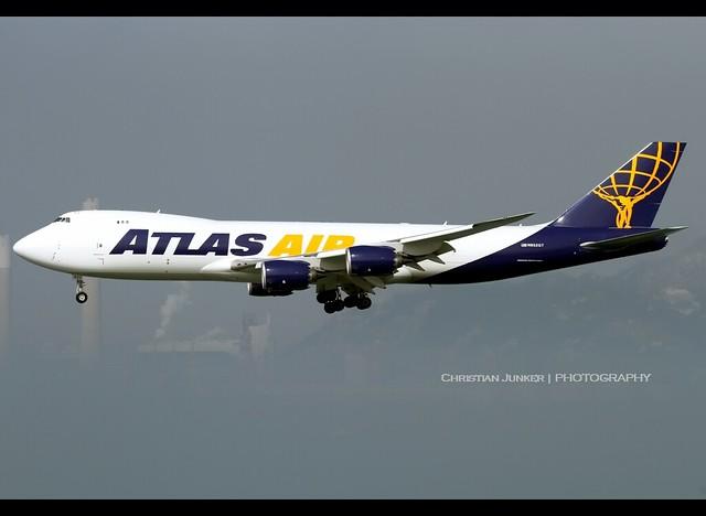 B747-8/F | Atlas Air | N852GT | HKG