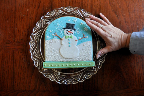 Snow Globe Cookie Gram | by kelleyhart