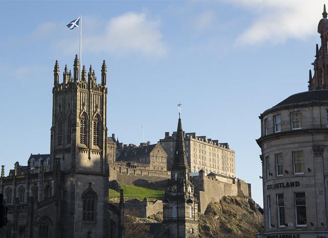 New Year's Day in Edinburgh