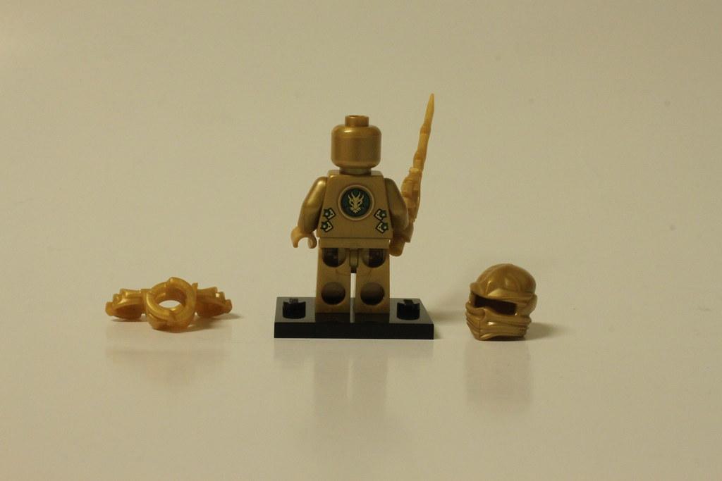 Lego Ninjago The Golden Dragon 70503 Lloyd The Golden Flickr