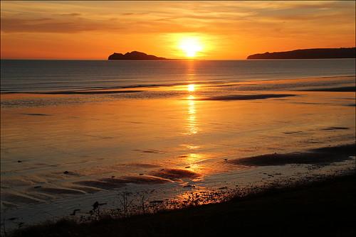 ocean ireland sea sky dublin sun colour beach water sunrise landscape dawn coast seaside shore fa portmarnock