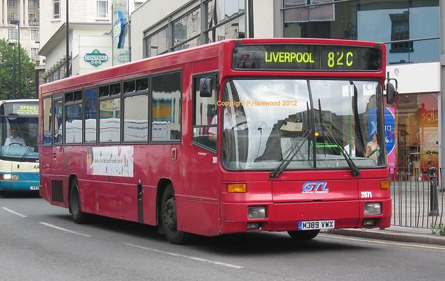 Stagecoach Merseyside M389VWX