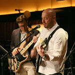 Sun, 20/01/2013 - 9:37pm - Music, wine and food in an evening to benefit WFUV Public Radio. The Highline Sessions at Del Posto are hosted by Rita Houston and Joe Bastianich. January 20, 2013. Photo by Laura Fedele