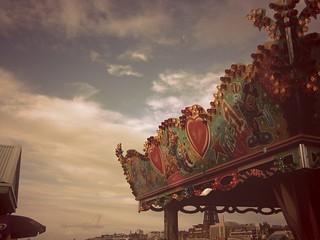 Blackpool Central Pier Fair.