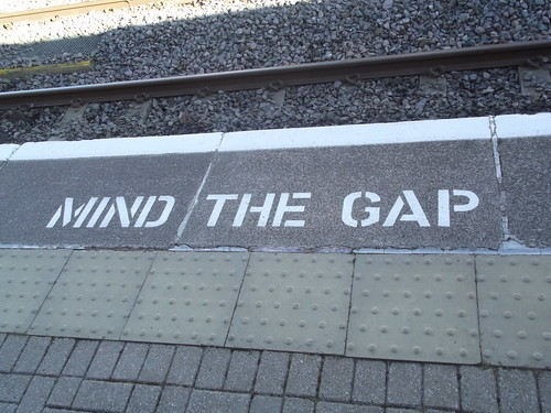 Wilmcote Station - Mind the Gap | by ell brown