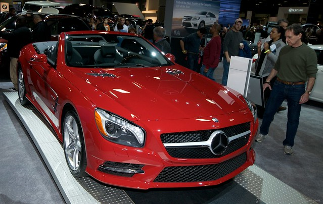 2013 Washington Auto Show - Lower Concourse - Mercedes-Benz 1