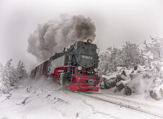 Tren vapor del Harz
