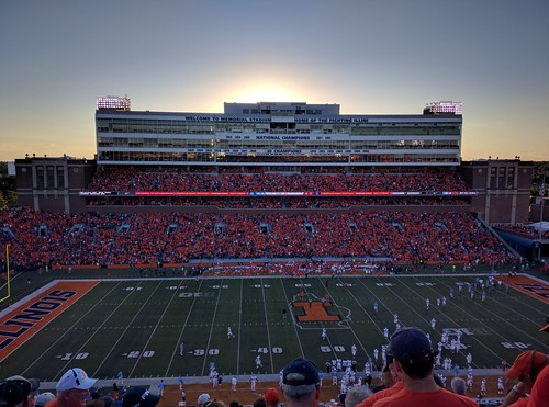 University of Illinois vs. University of North Carolina | by Garst