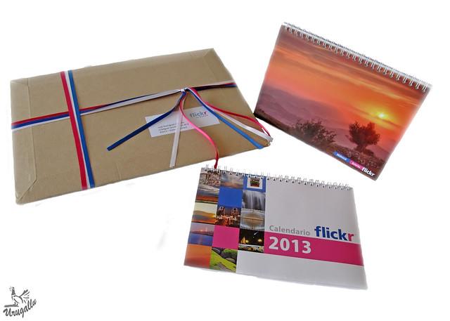 Calendario Flickr 2013 (Regalo de Yahoo)