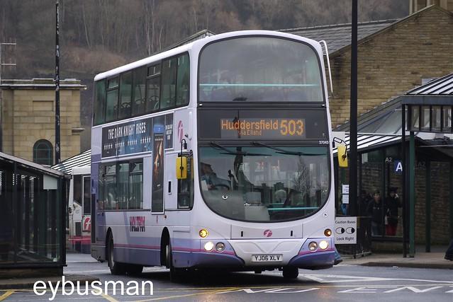 First West Yorkshire 37045, YJ06XLV.
