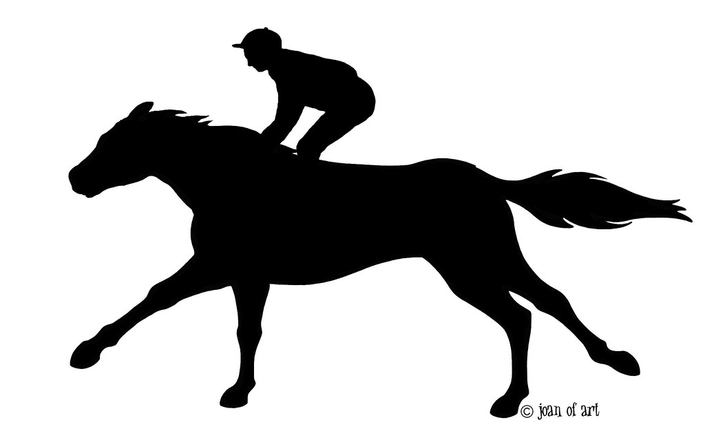 All Sizes Racing Horse Silhouette Flickr Photo Sharing