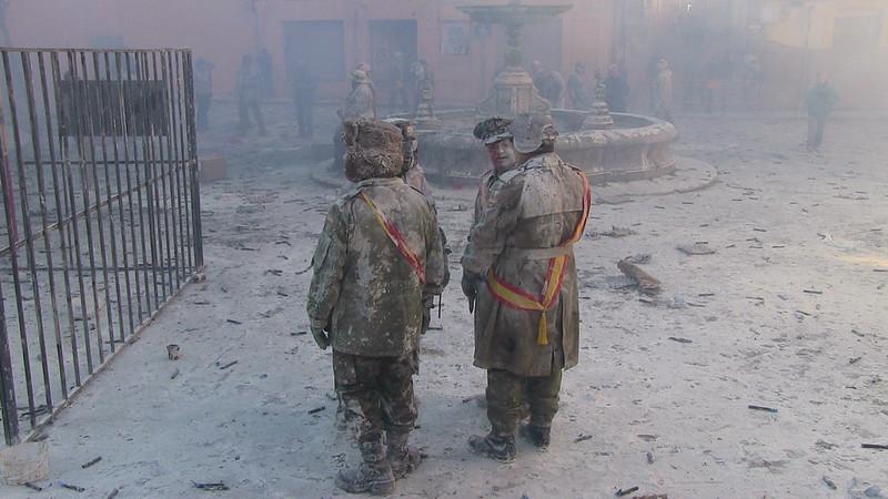 Reunió militar enfarinada