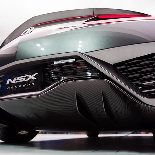 Acura NSX Concept @naiasdetroit #acura #nsx #detroit
