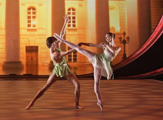 Anna Tikhomirova and Artem Ovchаrenko (Bolshoi Ballet)